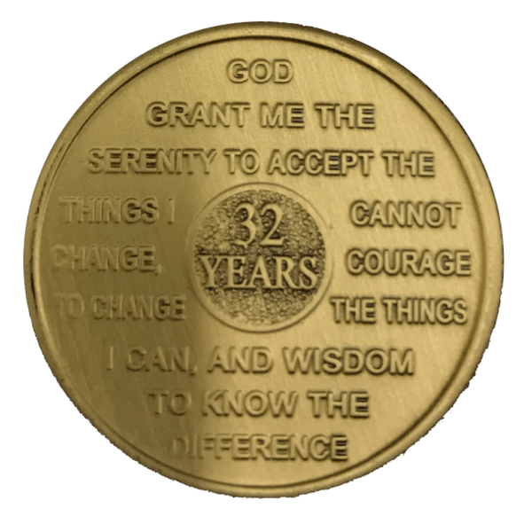 Thirty-two Year Medallion