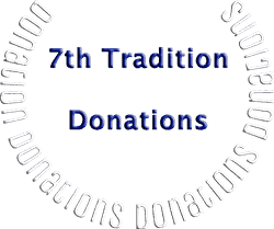 7th Tradition Donations