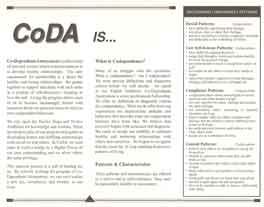 What is CoDA? (100 count flat pack)