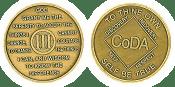 Three Year Medallion