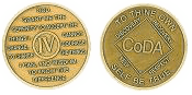 Four Year Medallion