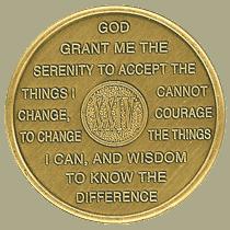 Twenty-four Year Medallion