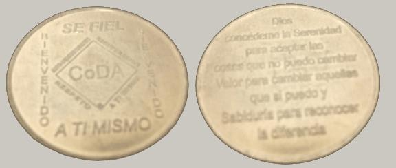 Bienvenidos – Medalliones conmemorativos CoDA