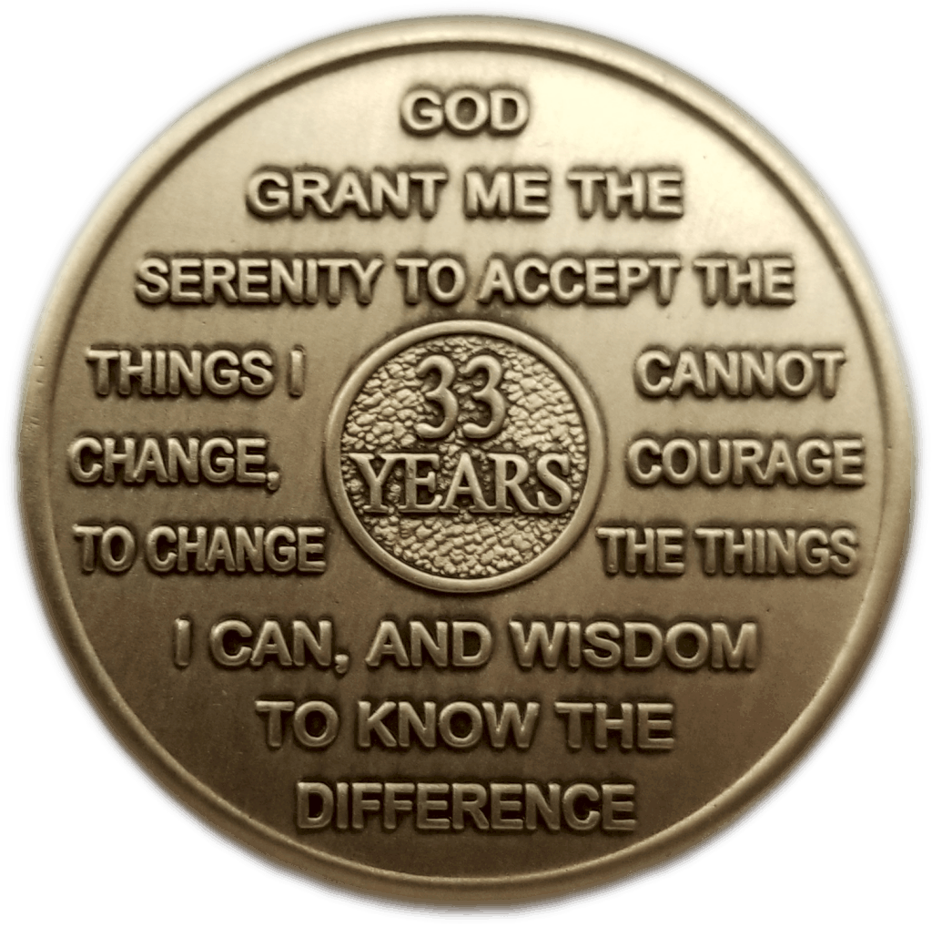 Thirty-Three Year Medallion