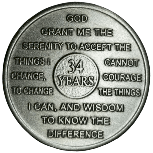 Thirty-four Year Medallion